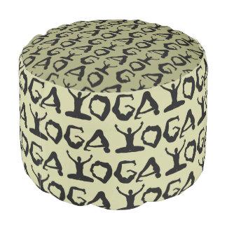 Yoga Pattern Pouf