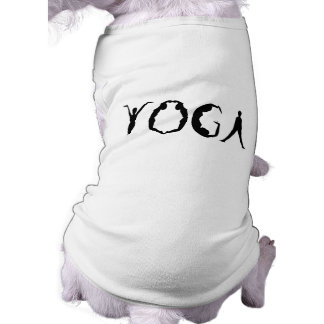 Yoga People Dog T-shirt