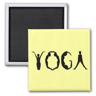 Yoga People Fridge Magnet