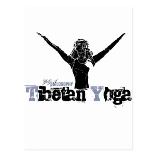 Yoga philosophy, - for sport and kids. postcard