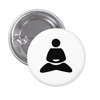 Yoga Pictogram Button