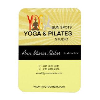 Yoga Pilates Business Magnet