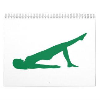 Yoga Pilates Calendarios