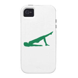 Yoga Pilates Vibe iPhone 4 Cases