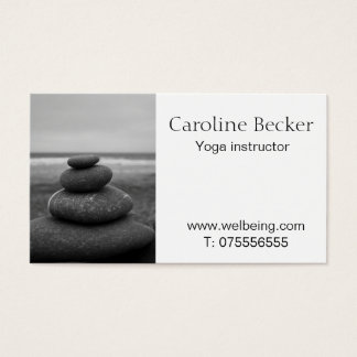 Yoga & Pilates instructor Business card