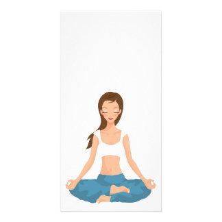 Yoga Pilates Meditation l Health & Fitness Card
