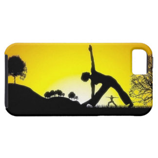 Yoga Pilates Session Out in Nature iPhone SE/5/5s Case