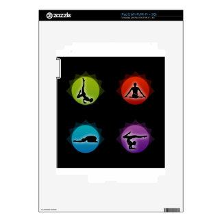 Yoga pilates skins for the iPad 2