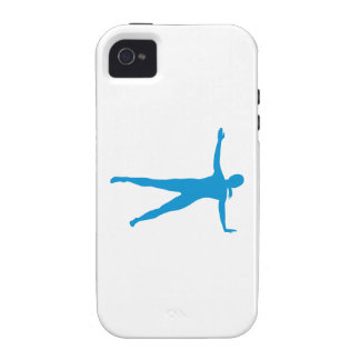 Yoga Pilates woman iPhone 4/4S Case