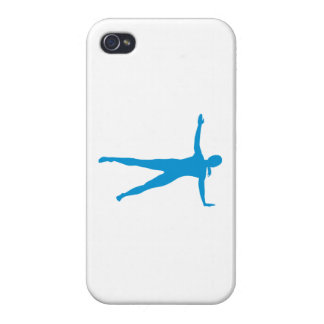 Yoga Pilates woman iPhone 4 Cover