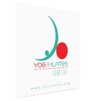 Yoga Pilates - Wrapped Canvas
