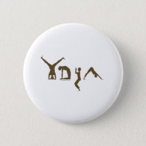 Yoga Pinback Button
