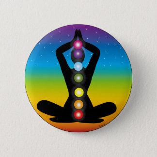 Yoga Pinback Button