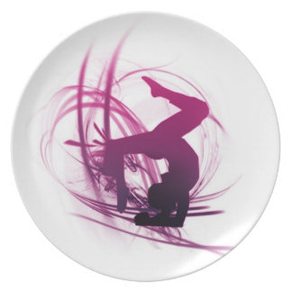 Yoga Party Plate