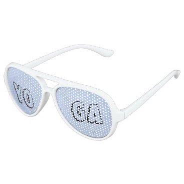 Beach Themed YOGA PLEASE   SUN GLASSES