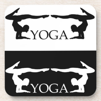 Yoga pose- Advanced level Drink Coaster