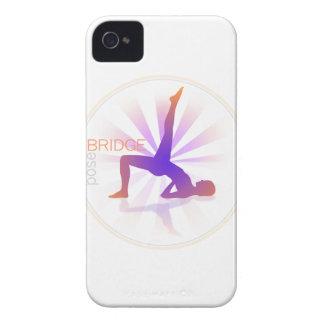 Yoga Pose Blackberry Case (bridge pose)