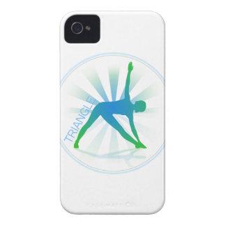 Yoga Pose Blackberry Case (triangle)
