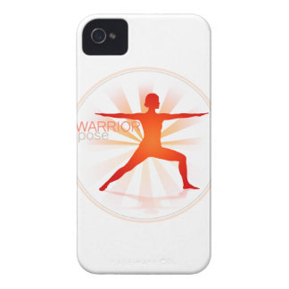 Yoga Pose Blackberry Case (warrior pose)