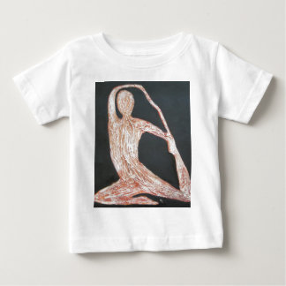 Yoga Pose Body Exercise Original Oil Painting Art Baby T-Shirt