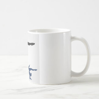 Yoga pose coffee mug