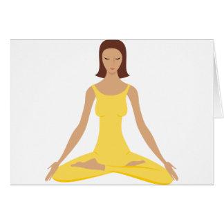 Yoga Pose Girl Cards