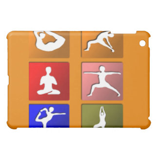 Yoga Pose Icons iPad Mini Case