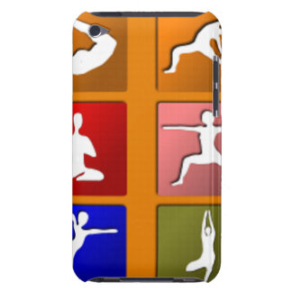 Yoga Pose Icons iPod Touch Cover