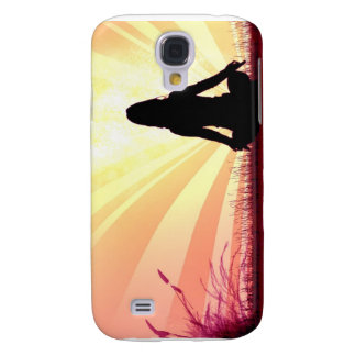 Yoga Pose iPhone 3G Case Galaxy S4 Cases