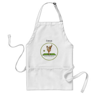 Yoga pose - Lord of the Dance Adult Apron