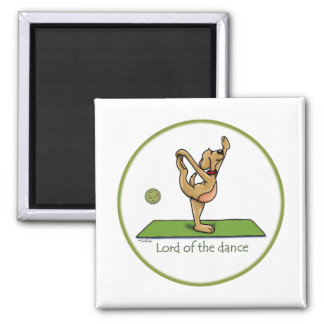 Yoga pose - Lord of the Dance Fridge Magnet