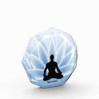Yoga Pose Lotus Blossom Namaste Award