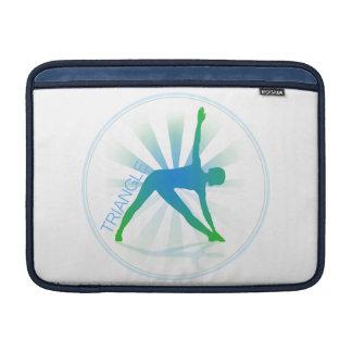Yoga Pose Macbook Sleeve (triangle)