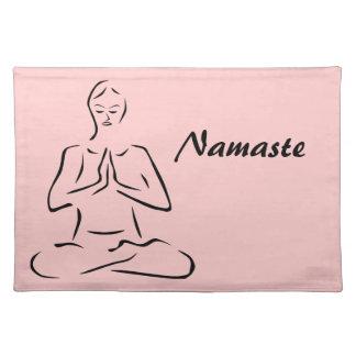 Yoga Pose Cloth Placemat