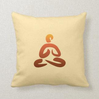 Yoga Poses/Asanas I Throw Pillow