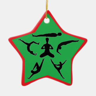 Yoga Pose Ornaments & Keepsake Ornaments | Zazzle