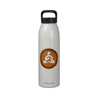 Yoga 'Poses I' Bottleworks Reusable Water Bottles