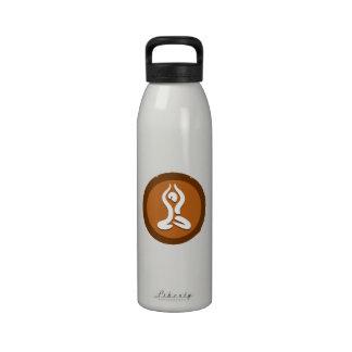 Yoga 'Poses II' Bottleworks Drinking Bottle