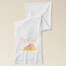 Yoga poses scarf