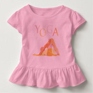 Yoga poses toddler t-shirt