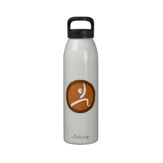 Yoga 'Poses VI' Bottleworks Reusable Water Bottles