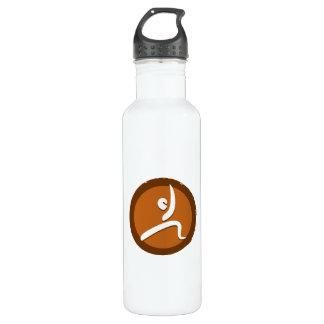 Yoga 'Poses VI' Bottleworks Water Bottle