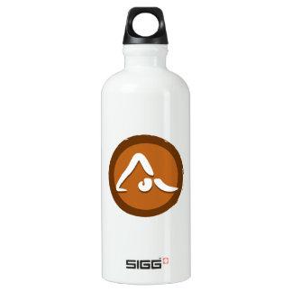 Yoga 'Poses VII' Bottleworks Water Bottle