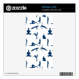 Yoga Positions iPhone 4 Skin