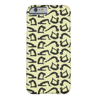 Yoga Positions Silhouettes Barely There iPhone 6 Case