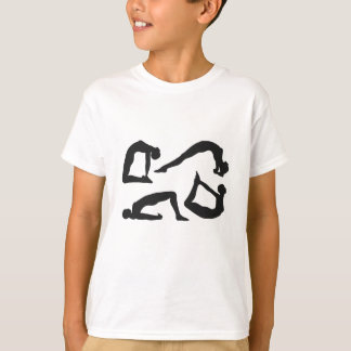 Yoga Positions Silhouettes T-Shirt