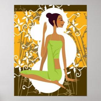 Yoga Print print