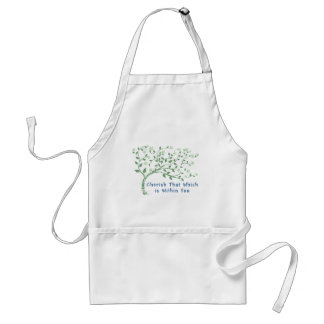 Yoga Quote: Cherish That Which is Within You Adult Apron
