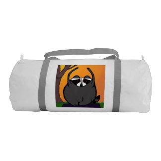 Yoga Raccoon Duffel Bag