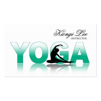 Yoga Reflections, Yoga Instructor, Yoga Class Business Card